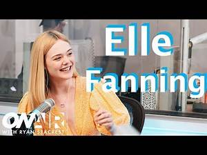 Elle Fanning On Her 21st Birthday | On Air with Ryan Seacrest