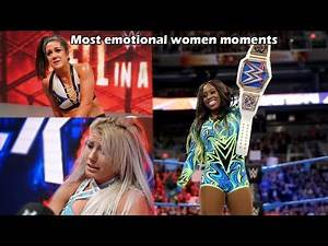 WWE Most Emotional Women Moments - Part 2