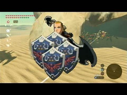 Breath of the Wild Exploit - Duplicate the Hylian Shield and Rare Weapons!