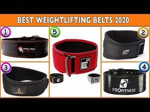 Best Weightlifting Belts 2020 - Top Powerlifting Belt Reviews