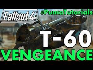 FALLOUT 4: Unique Apparel Guide - How to get the Vengeance T-60 Right Leg #PumaTutorials