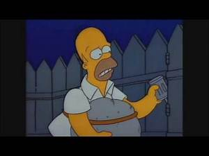 [2017] Homer Tries To Commit Suicide - The Simpsons [2017]
