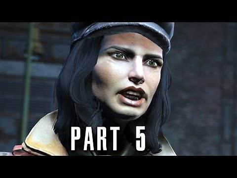 Fallout 4 Walkthrough Gameplay Part 5 - Diamond City (PS4)