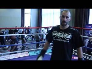 MASHER POWER! - SEAN 'MASHER' DODD SMASHES THE PADS AHEAD OF REAL LIFE ROCKY STORY - GOODISON PARK