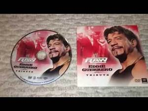 WWE Eddie Guerrero Raw Tribute Show DVD Review