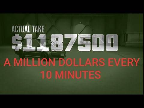 Gta 5 bogdan heist glitch 1 million every 10 mins