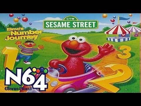 Elmos Number Journey - Nintendo 64 Review - HD