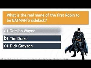 DC Trivia - Batman