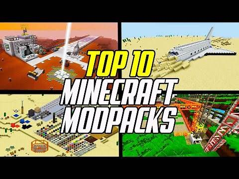 Top 10 Best Minecraft Modpacks To Play