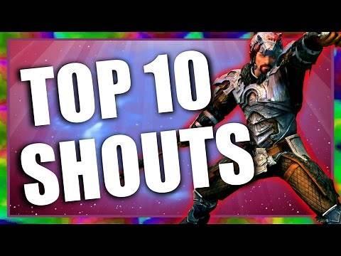 Top 10 Shouts in Skyrim Special Edition