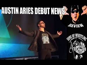 WWE NEWS 1/22/16 AUSTIN ARIES DEBUT & ATTACKED BY CORBIN NEWS BY SOW