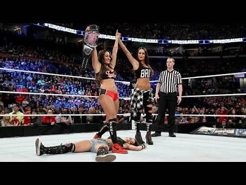 Nikki Bella vs. AJ Lee - Divas Championship Match: Survivor Series 2014