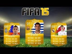 FIFA 15 - Player Potential Ratings