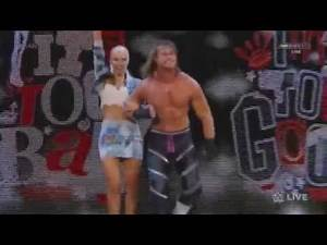 Lana Accompanies Dolph Ziggler & Attacks Summer Rae Once Again -WWE RAW- August 24th 2015