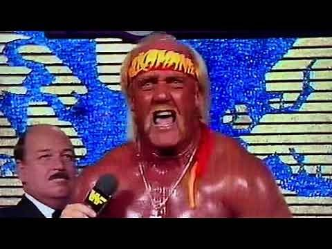 """Hulk Hogan almost makes it through long promo without messing up, says """"dog paddle"""" instead"""