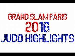 Judo Grand Slam Paris 2016 - Gold Highlights for All Mens' Categories
