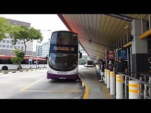 SBS Transit Bus Service 10 (Direction 1 - Tampines Int to Kent Ridge Ter) [4K 60FPS]
