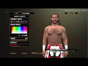 WWE '12 Shawn Michaels CAW Formula by Apex-gamer4357