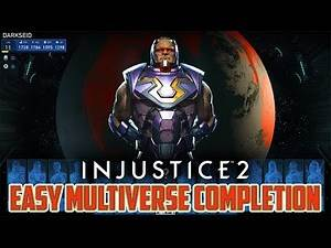 Injustice 2 - How to Cheese Your Way Through Multiverse Events Making the Computer Play For You