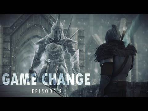 Transforming Skyrim into Dark Souls