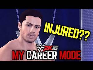 "WWE 2K16 My Career Mode - Ep. 33 - ""INJURED?!!"" [WWE MyCareer PS4/XBOX ONE/NEXT GEN Part 33]"