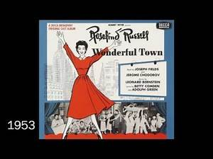 Every Best Musical Tony Award Ever (1949-2016)
