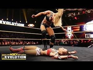 Charlotte vs. Sasha Banks - NXT Women's Championship Match: NXT TakeOver: R Evolution, Dec. 11, 2014