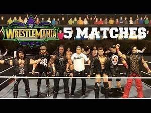 5 Matches That NEED to Happen at WrestleMania 34! | WWE Figures