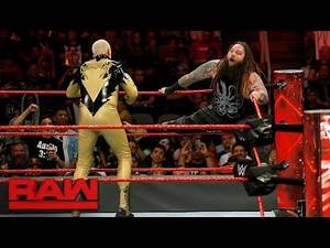 Dustin Rhodes vs. Bray Wyatt: Raw, Sept. 18, 2017