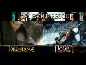 Last Eagle Rescue: Lord of the Rings & The Hobbit - (Side by Side)