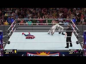 WWE 2K18 - SPIDER-MAN vs PENNYWISE!