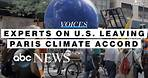 Climate experts discuss US withdrawal from Paris agreement l ABC News