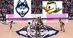 Oregon Ducks vs UConn Huskies Basketball Game Highlights 2 3 2020