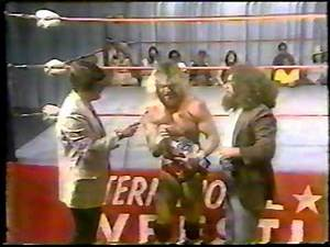 Randy Savage promo on Ron Garvin & Wee Willie - ICW 1980