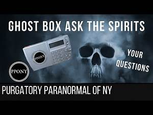 Ghost Box Live - Asking Questions