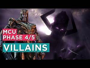 Upcoming Villains in MCU Phase 4 & 5 | Marvel Phase 4 Villains | Explained in Hindi