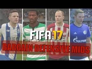 TOP 20 BARGAIN DEFENSIVE MIDFIELDERS | FIFA 17 Career Mode