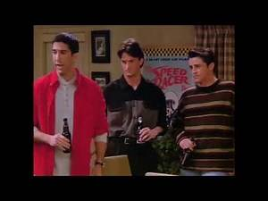 Chandler, Ross and Joey dancing still fits with anything