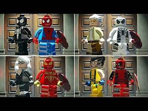 All New Marvel X Men Characters in LEGO Marvel Super Heroes