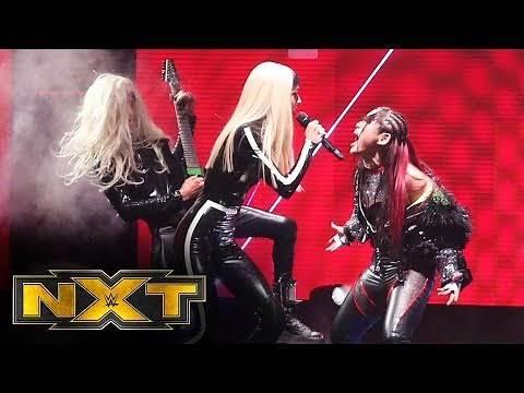 "Io Shirai enters to Poppy's ""Scary Mask"": WWE NXT, Oct. 30, 2019"