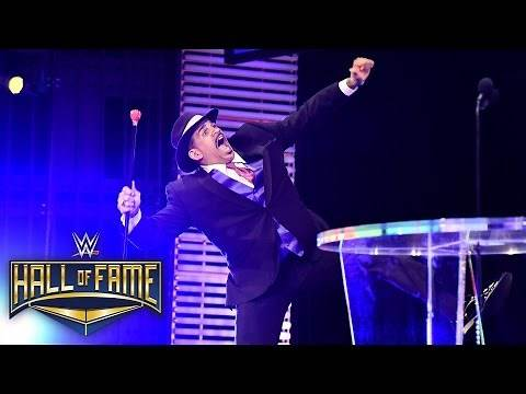 """""""All aboard!"""" as The Godfather shows his love to those that helped him: 2016 WWE Hall of Fame"""