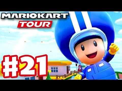 Pit Crew Toad! Paris Tour! - Mario Kart Tour - Gameplay Part 21 (iOS)