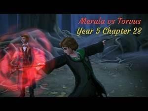Merula Vs Torvus Harry Potter Hogwarts Mystery Year 5 Chapter 28