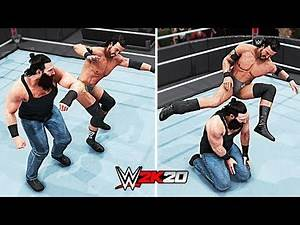 WWE 2K20 Top 10 Finisher to Finisher Reversals!! Part 4