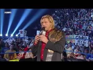 WWE Edge Farewell speech 4 15 11 HD*