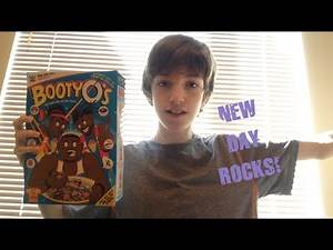 HILARIOUS BOOTY O's CEREAL BOX REVIEW!