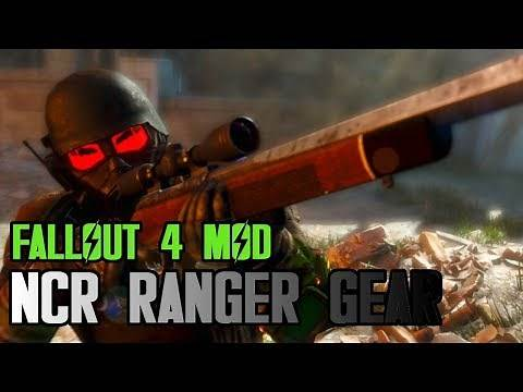 FALLOUT 4 NCR Ranger Armor Mod and Location
