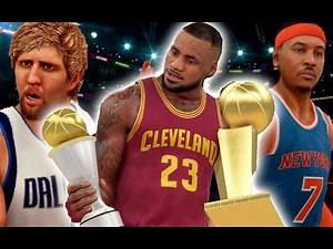 Could A Team With Only Players Over 30 Years Old Get A Three-Peat? NBA 2K17 Challenge
