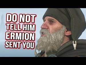 Witcher 3: DO NOT Tell Eyvind that Ermion Sent You!