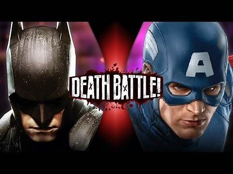 Batman VS Captain America (DC VS Marvel)   DEATH BATTLE!